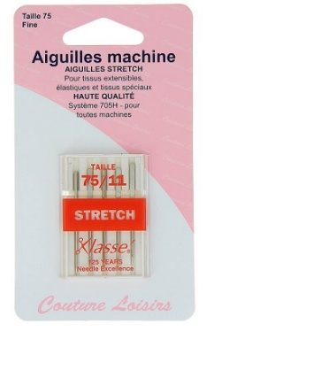 Mercerie Aiguilles machine stretch